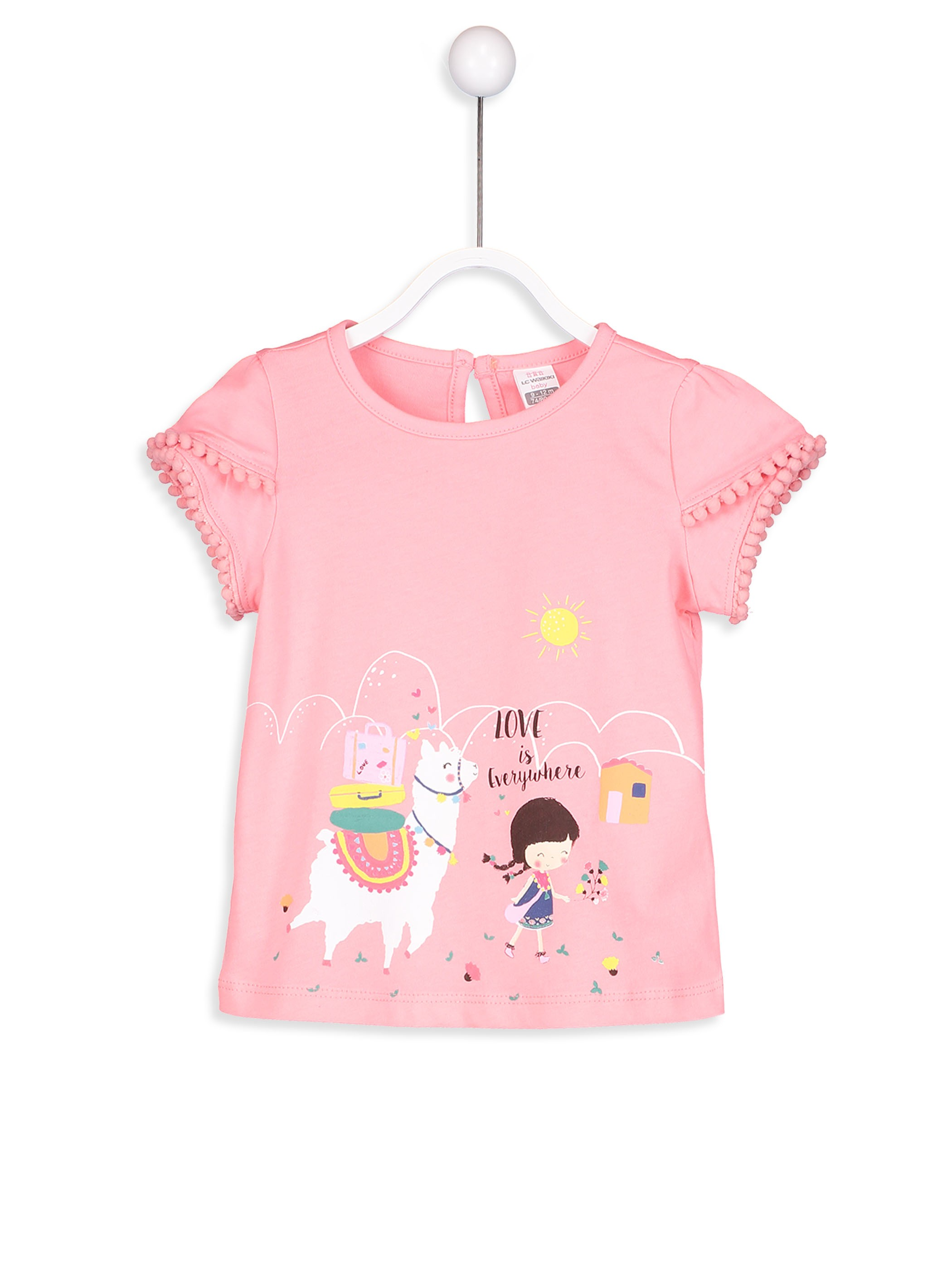 Pink - T-Shirt - 8S6472Z1