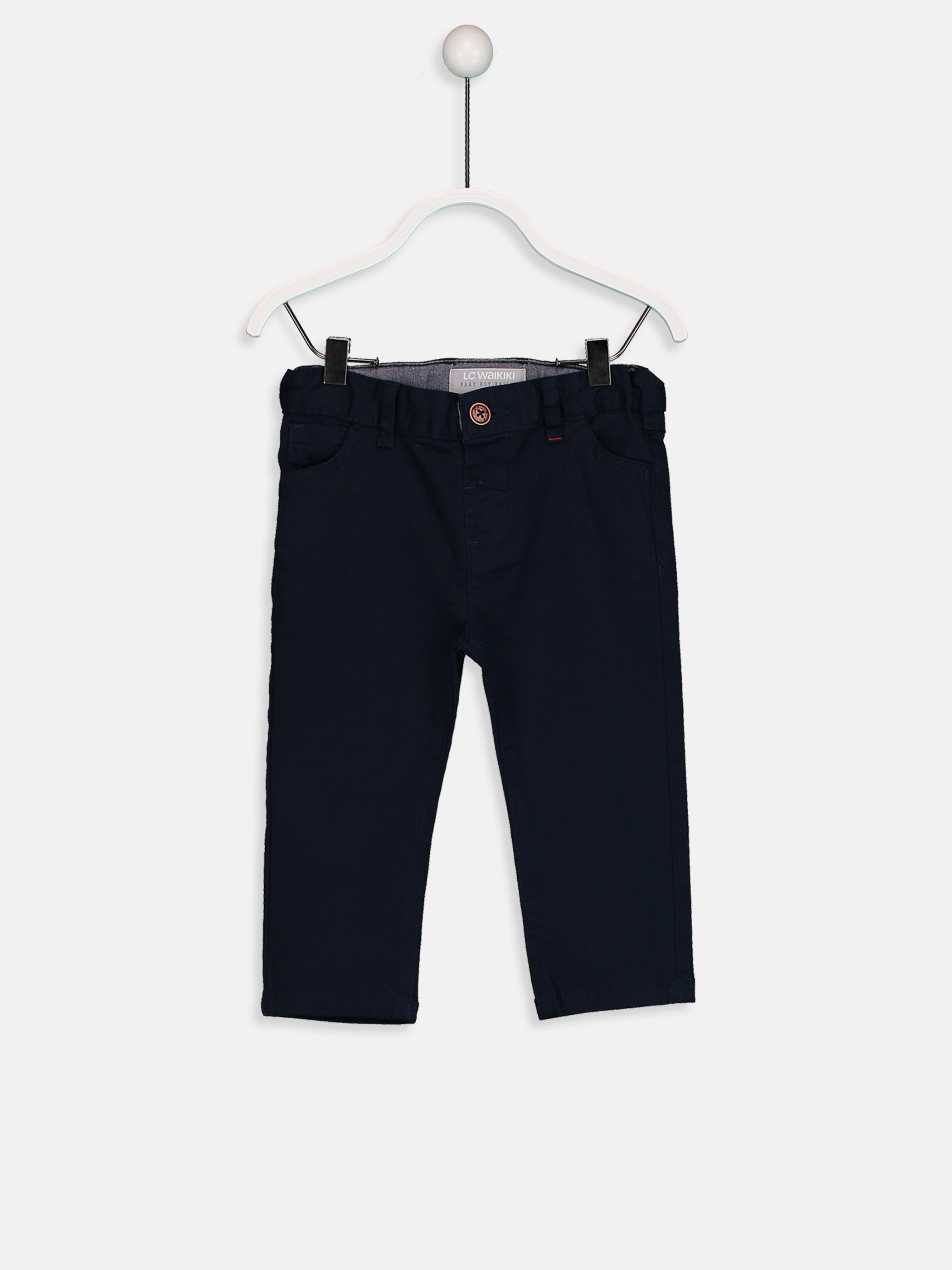 Navy - Trousers - 9S0867Z1