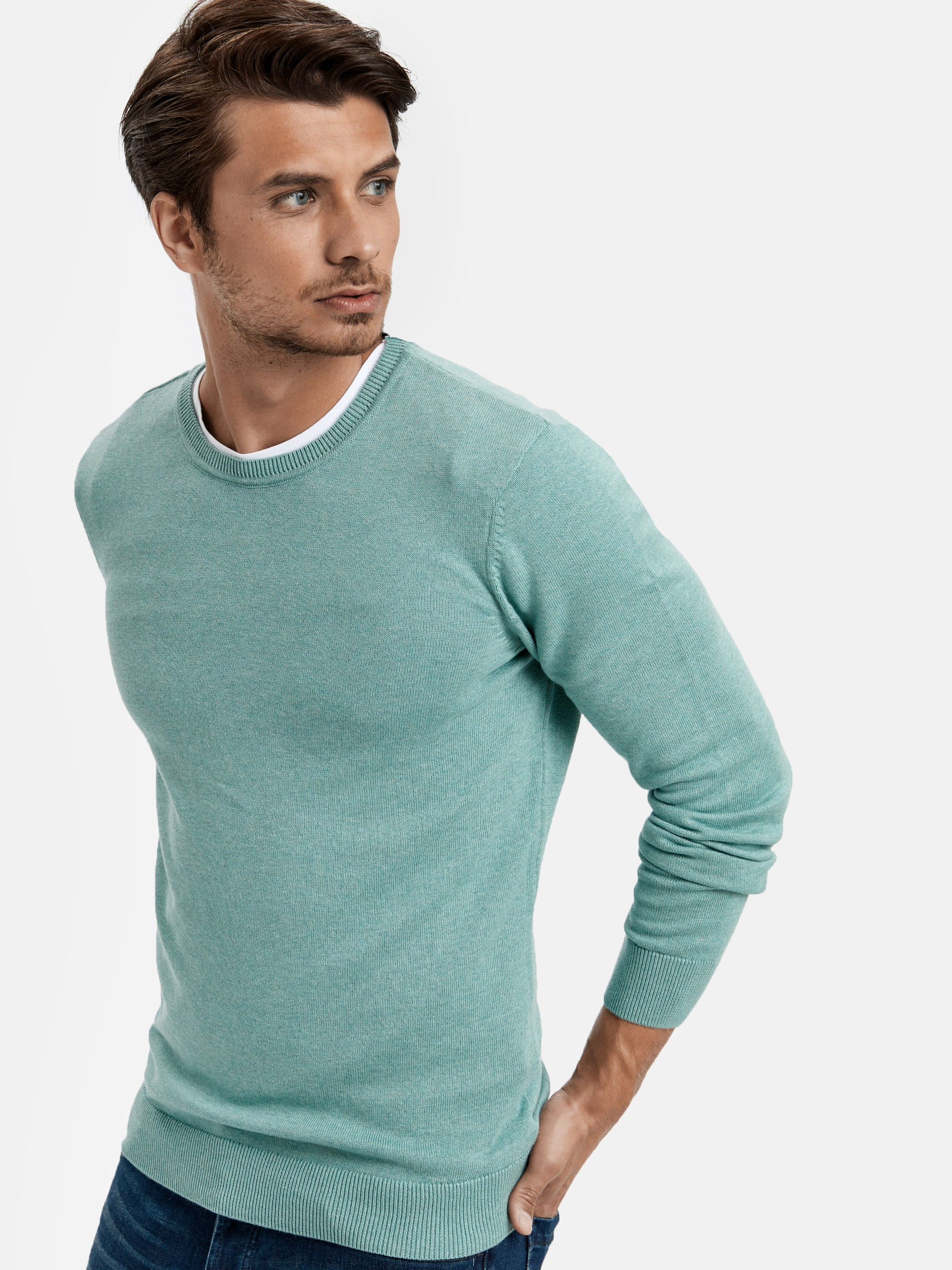 Turquoise - Jumper - 8W1832Z8