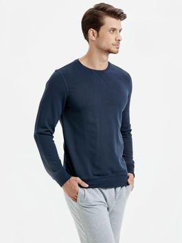 Navy - Sweatshirt