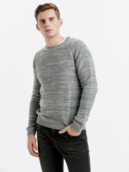 Grey - Jumper - 8W0381Z8