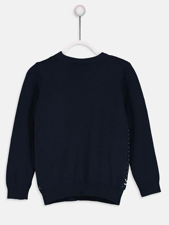 Navy - Jumper - 8W3372Z4