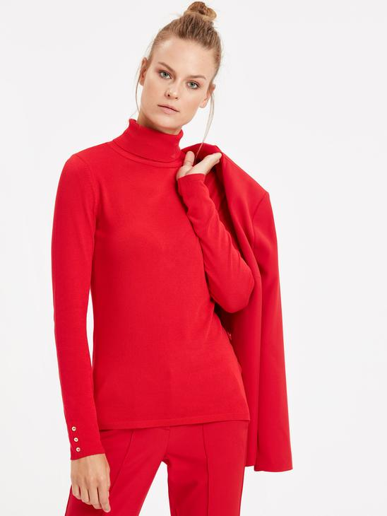 Red - Jumper - 8W1296Z8