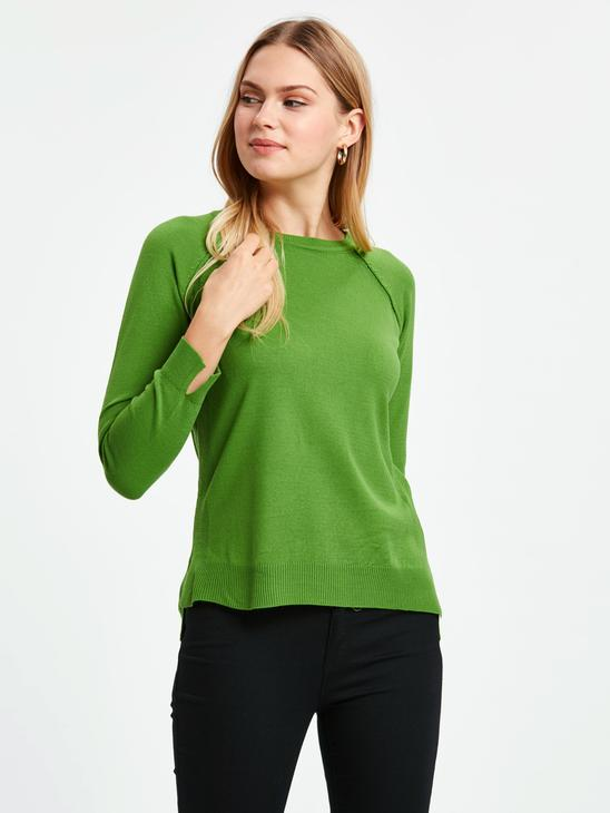 Green - Jumper - 8W3814Z8