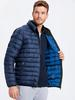 Navy - Short Coat - 8W0649Z8