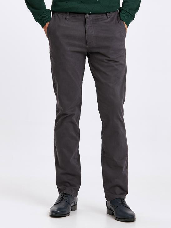 Anthracite - Trousers - 8W1048Z8