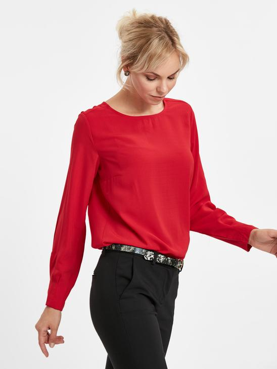 Red - Blouse - 8WJ193Z8