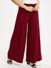 Maroon - Trouser Skirt - 9S9327Z8
