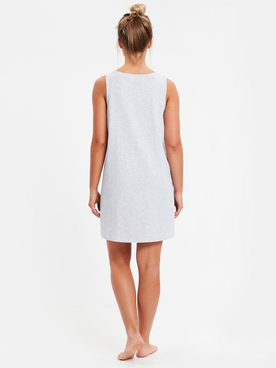 Grey - Nightdress - 9S9474Z8