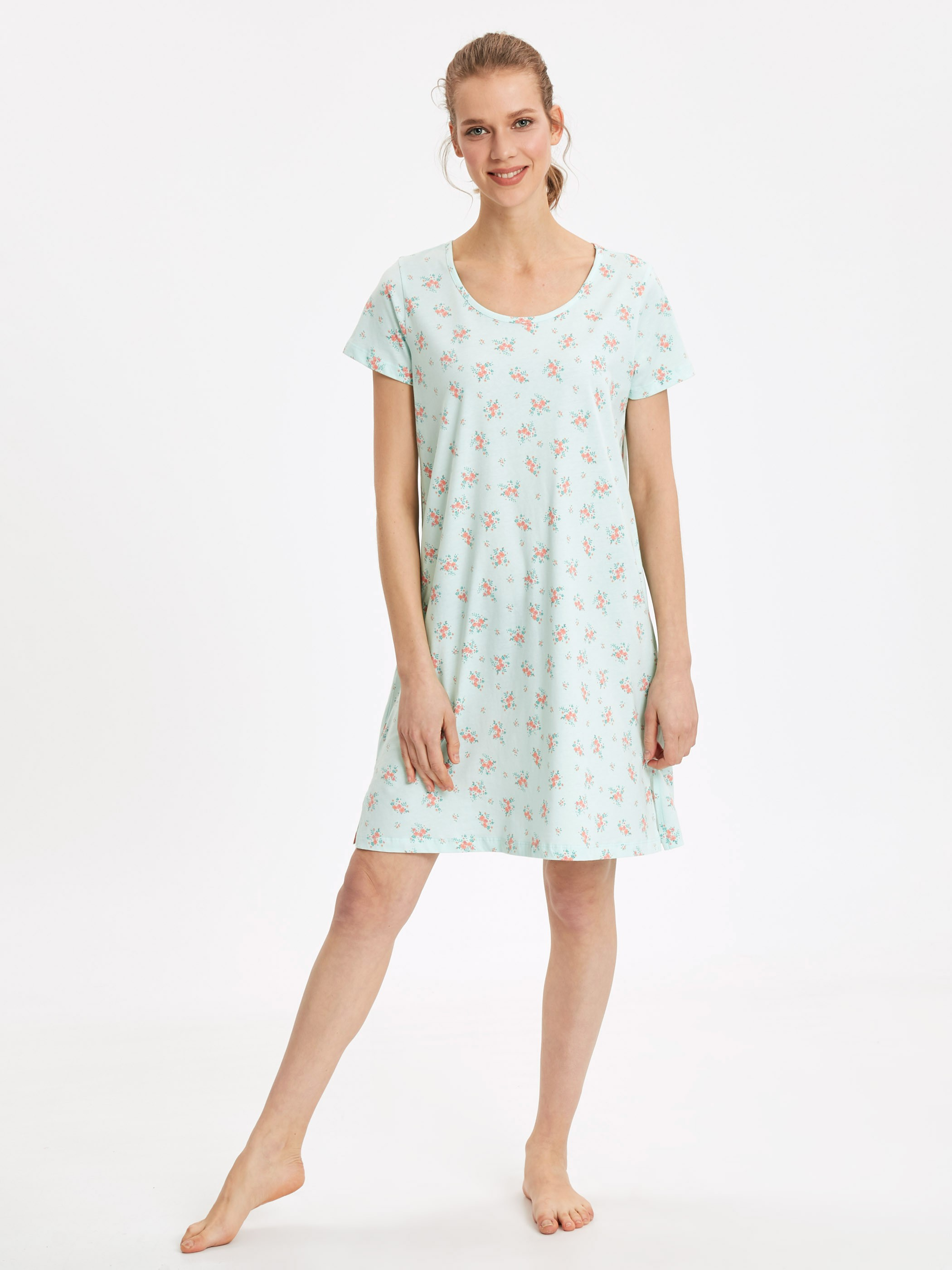 Blue - Nightdress - 9SI015Z8