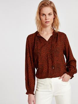 Brown - Blouse